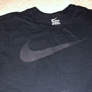 Nike T-shirt Black Size XL